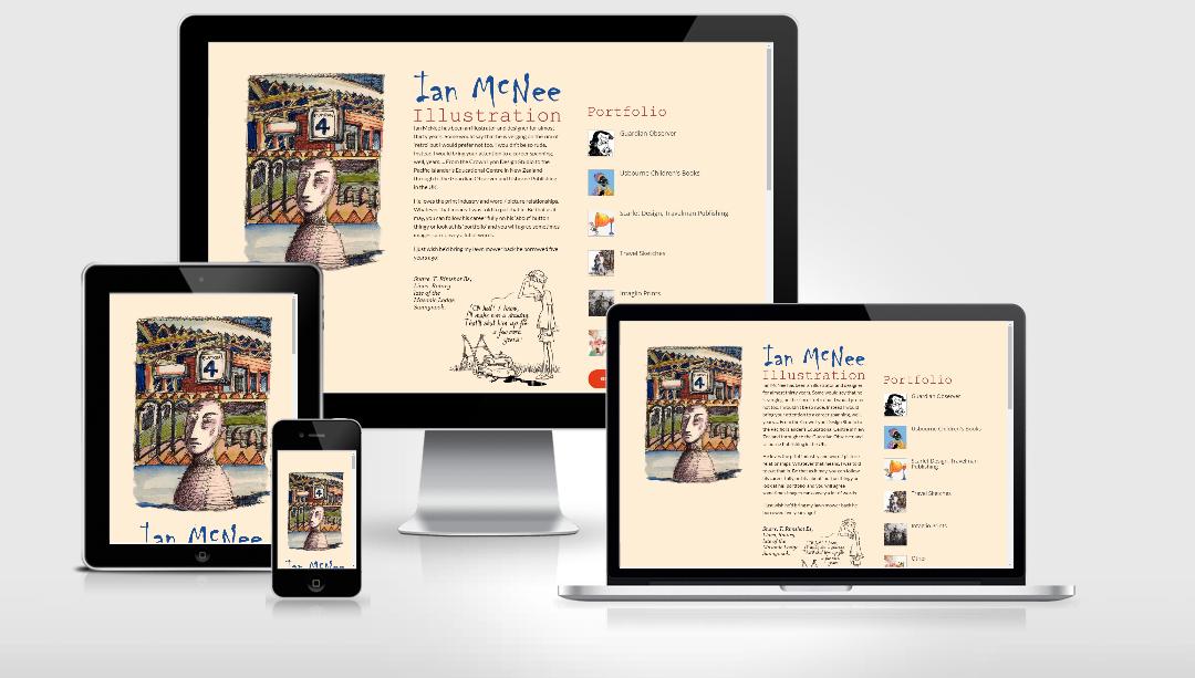 Ian McNee – Illustrator and Artist