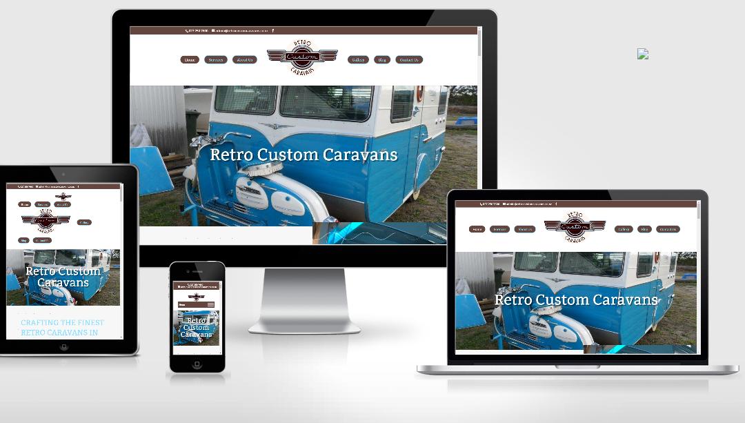 Retro Custom Caravans Whakatane